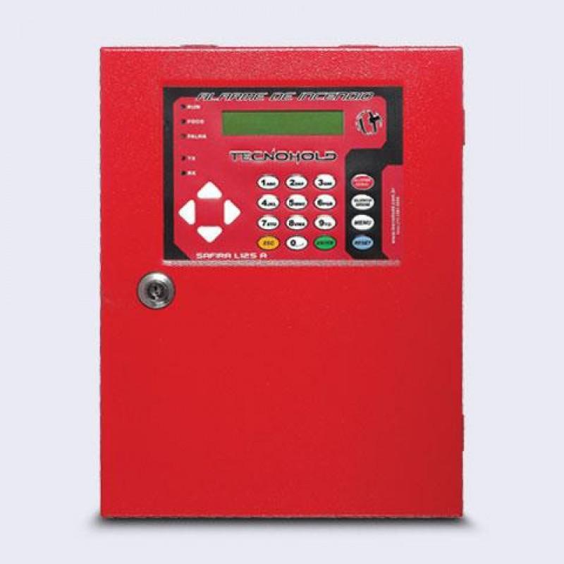 Imagem: Central de alarme de incêndio Endereçável Safira L125A |Tecnofire