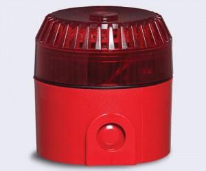 Sirene de incêndio áudio visual convencional