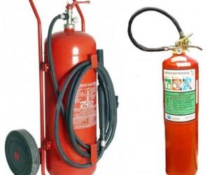 Recarga de extintores de incêndio na Zona Leste de SP