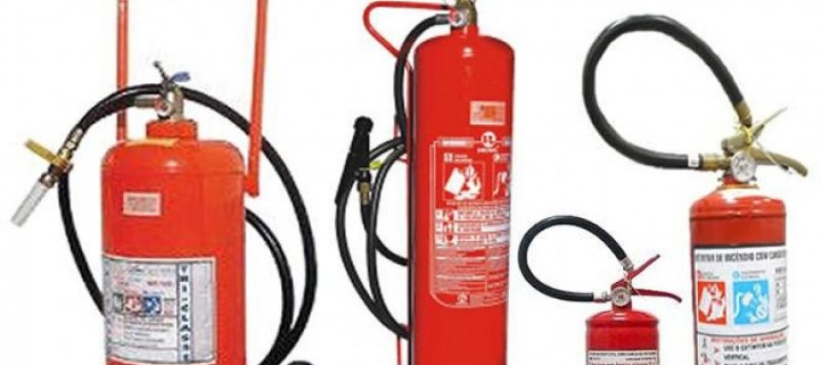 Imagem: Recarga de extintores de incêndio em São Paulo |Tecnofire