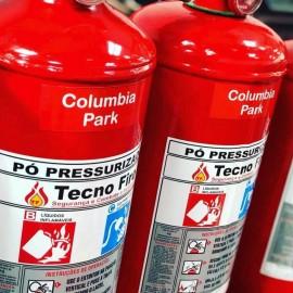 Recarga de extintor de incêndio no ABC