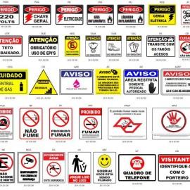 Instalação de sinalizações de emergência no Tatuapé